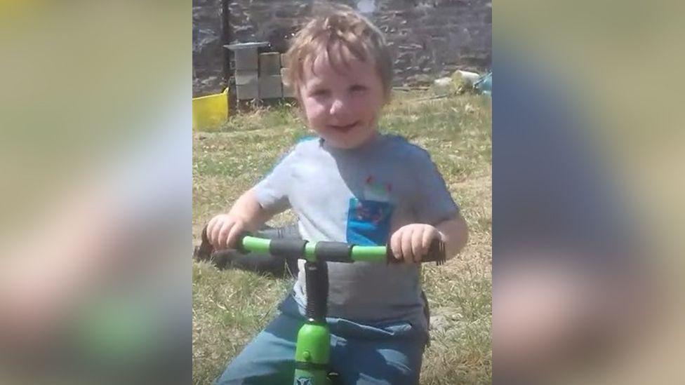 Dad ran over three-year-old son in 'tragic' farm accident