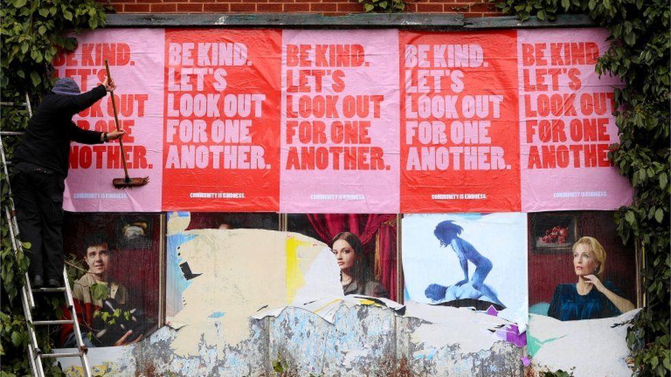 A billboard in Sheffield