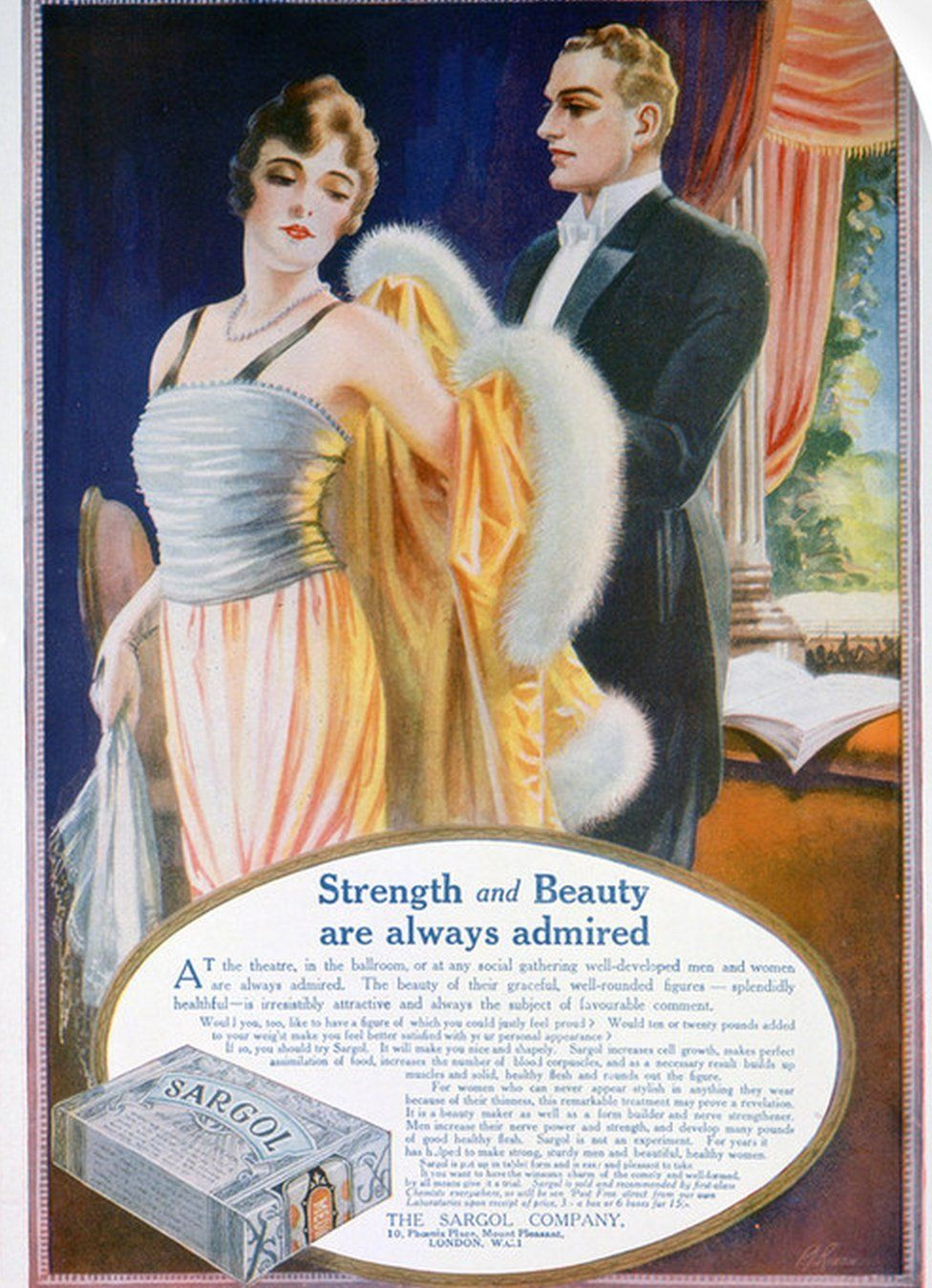 Advert for fat pills