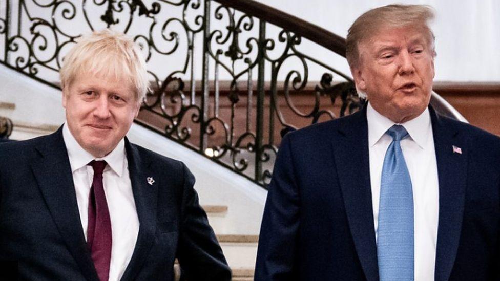 ترامب يتعهد باتفاق تجاري كبير مع بريطانيا بعد البريكست