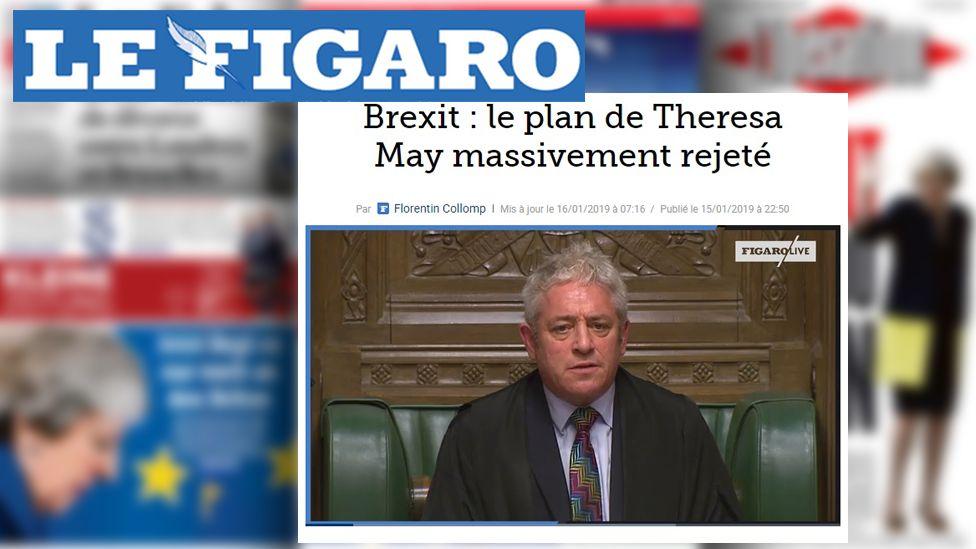 Le Figaro web site