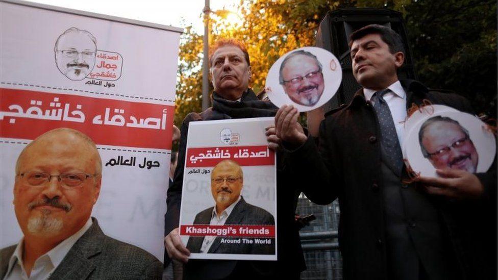 Vigil for Jamaal Khashoggi in Istanbul (23/10/18)