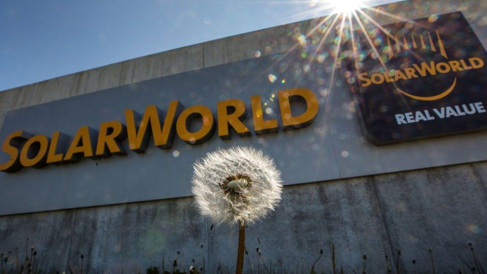 solarworld heasquarter in Germany