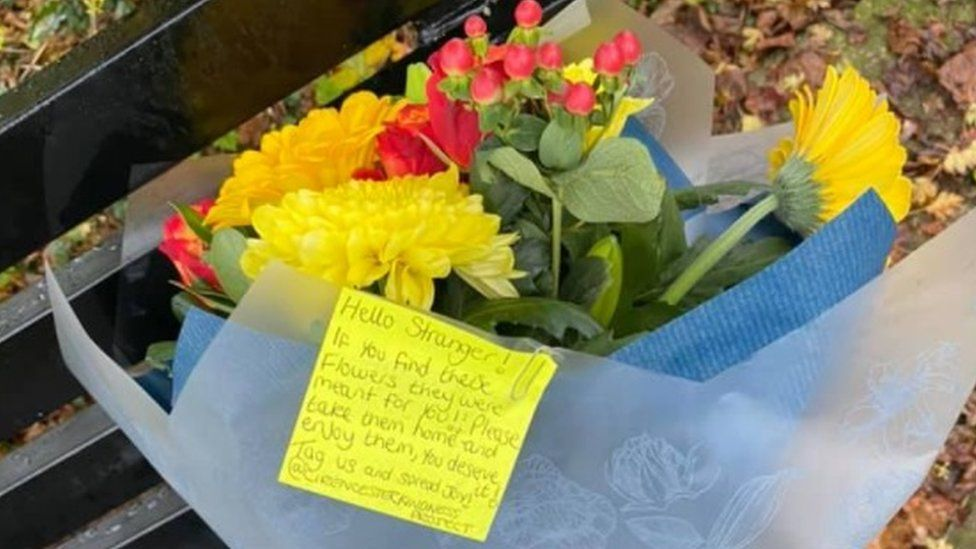 Cirencester Kindness Project flowers