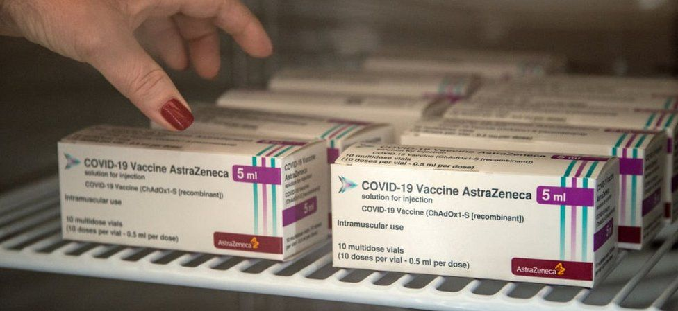 AstraZeneca vaccines in Caserta, Italy, 1 Mar 21