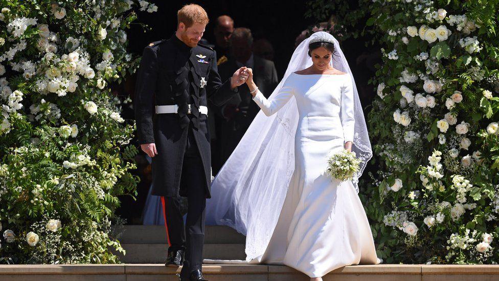 101642841 046913062 1 - Королевская свадьба: наряд Меган Маркл во всей красе