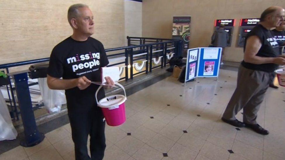 Kevin Gosden at Doncaster train station