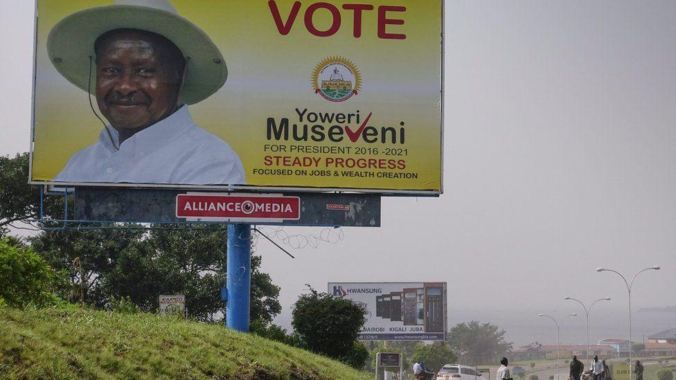 Yoweri Museveni poster