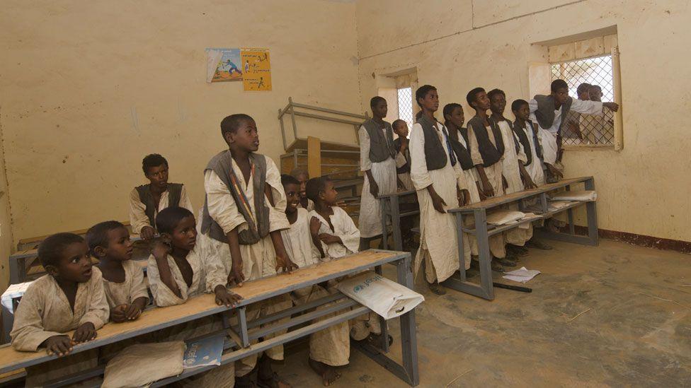 school in Sudan