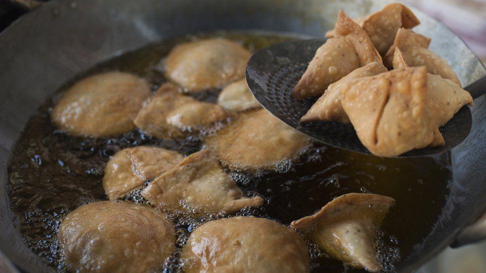 Samosas from Skekhawati in Rajasthan, north-west India