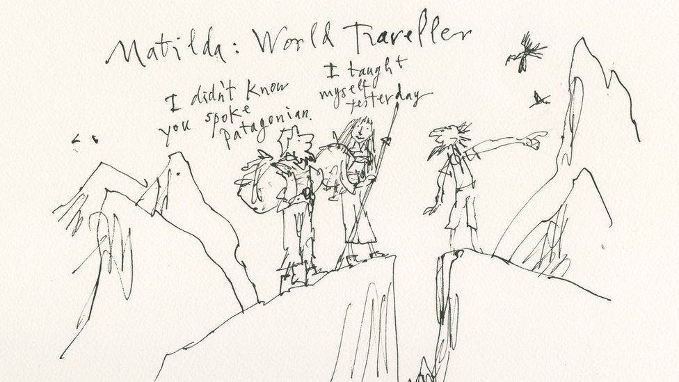 Matilda as a world traveller