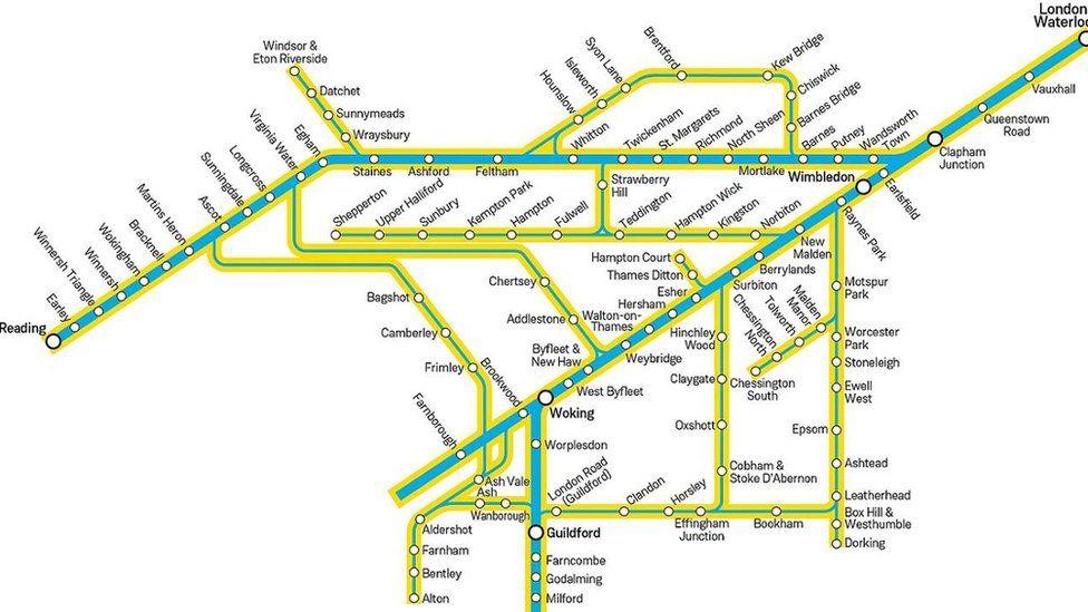 Arterio route map