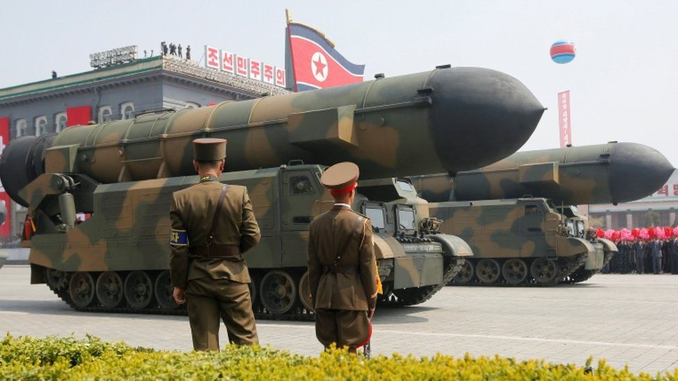 This is the land-based version of the SLBM, the Pukguksong-2,