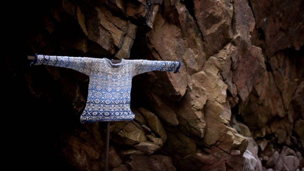 Mati Ventrillon knits and sells bespoke Fair Isle sweaters