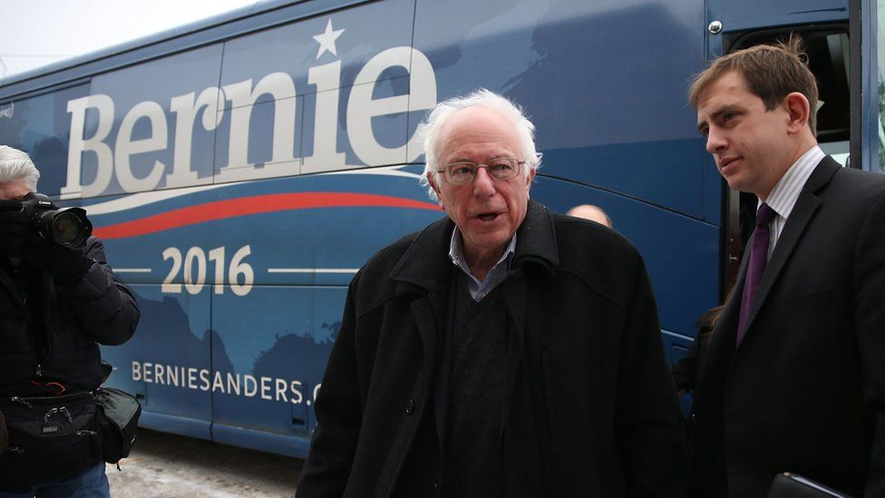 Bernie Sanders in Iowa