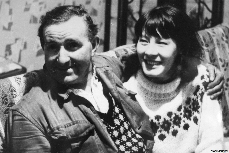 Yvonne and her dad, Edward Lindsay
