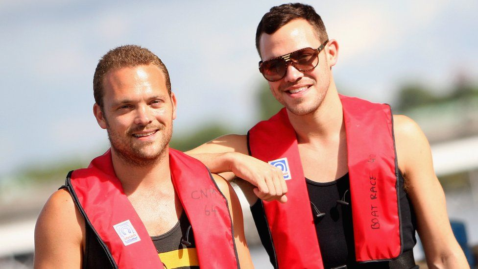 Rupert and Will Young