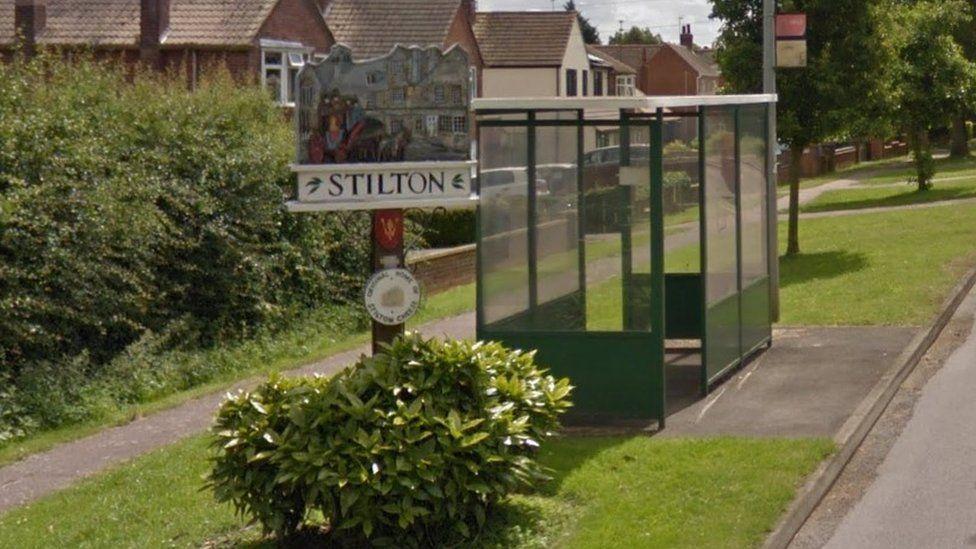 Stilton sign
