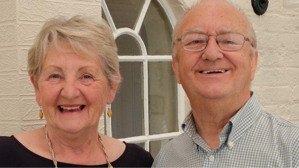 Lynda and John Hallaway