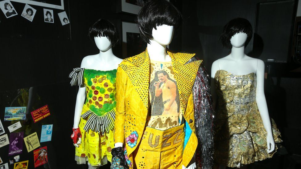 Karen O's stage costumes