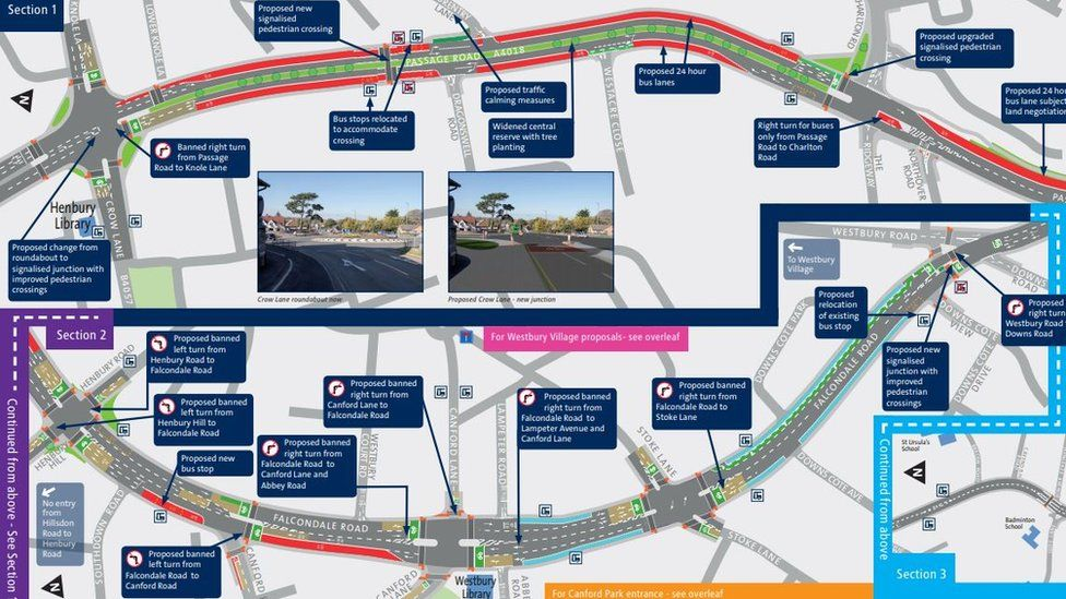 Proposed changes to the A4018