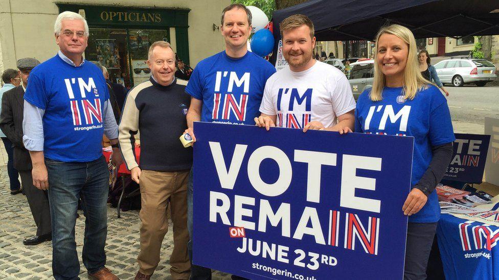 Conservative Vote Remain campaigners
