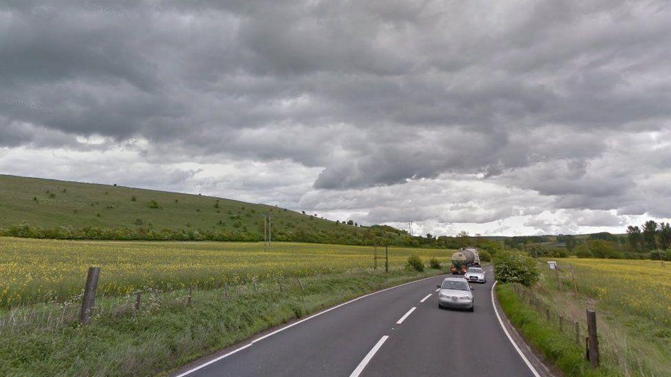 A36 near Codford