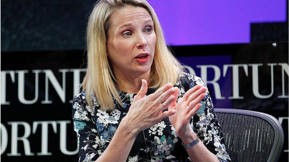Marissa Mayer, former boss of Yahoo
