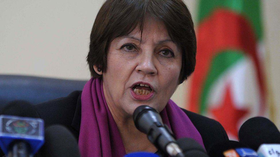 Algerian Education Minister Nouria Benghebrit