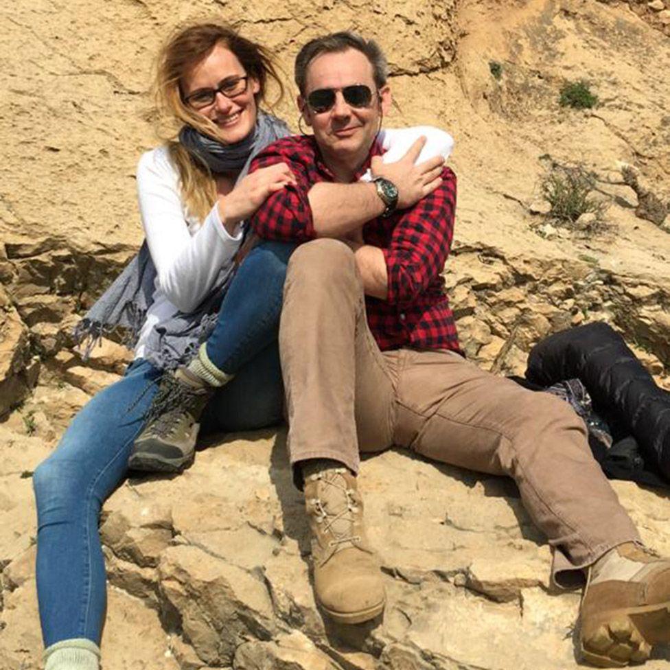 Emma Winberg and James Le Mesurier
