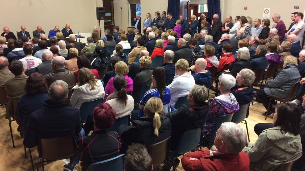 The public meeting was told of the difficulties facing rural GPs