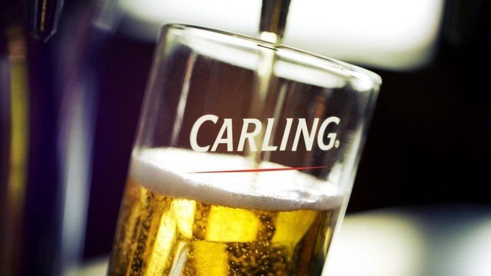 Pint of Carling