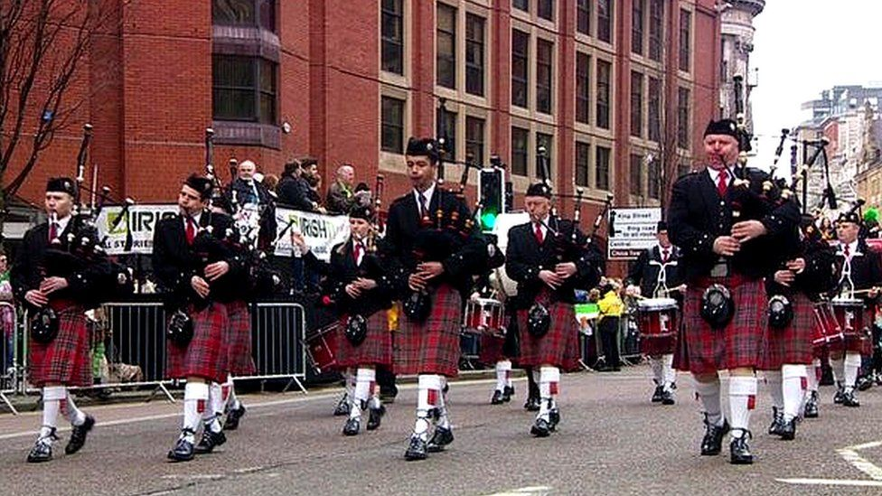 St Patrick's Parade Manchester