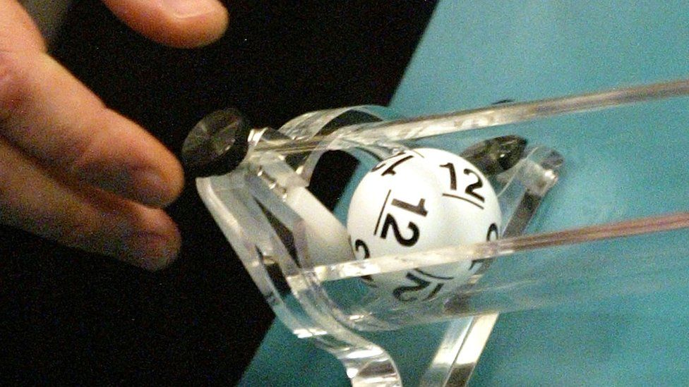 File pic of lottery ball