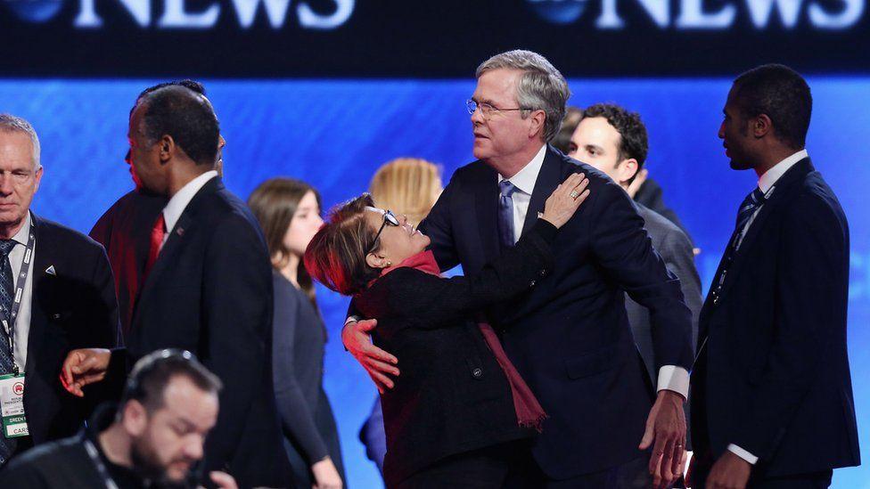 Jeb Bush with wife Columba