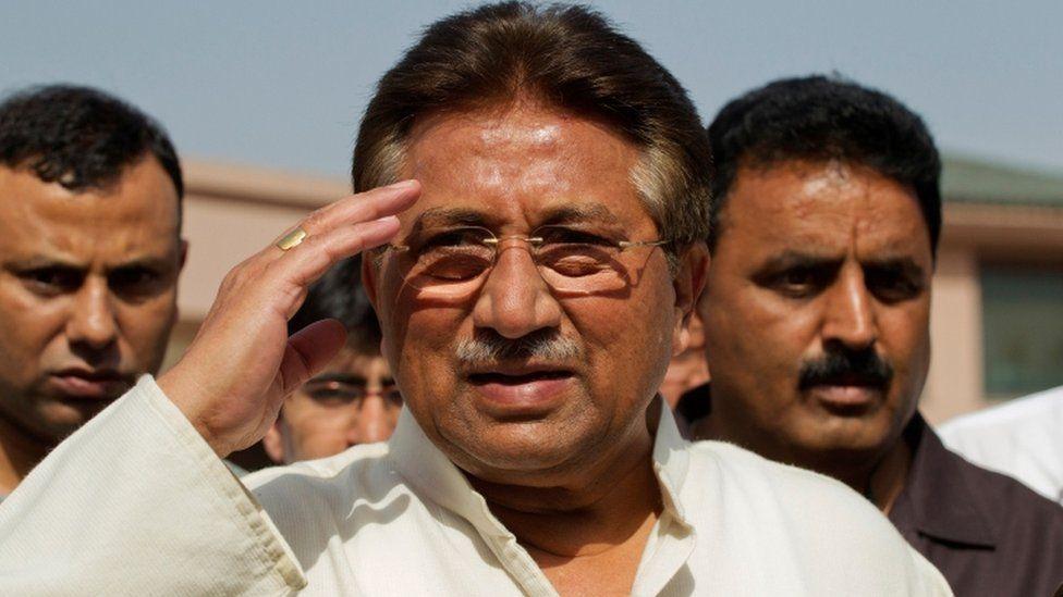 Pervez Musharraf: Pakistan ex-leader sentenced to death for treason