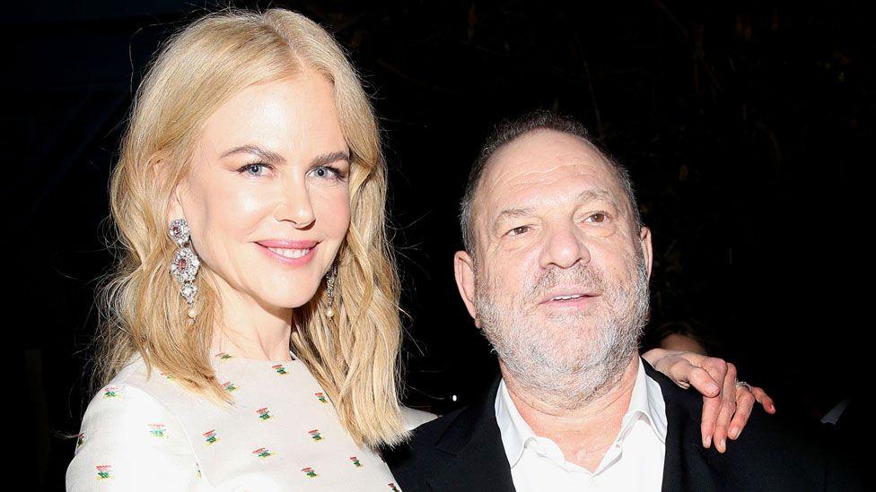 Harvey Weinstein with Nicole Kidman