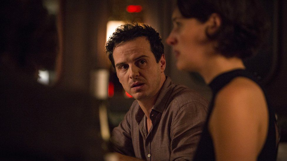 Andrew Scott plays a priest in Fleabag