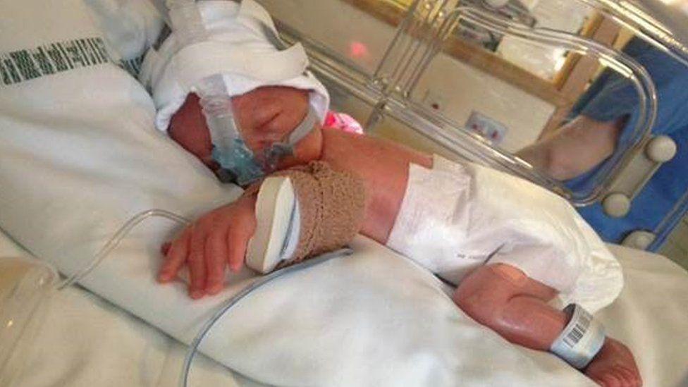 Caio Cymru in hospital