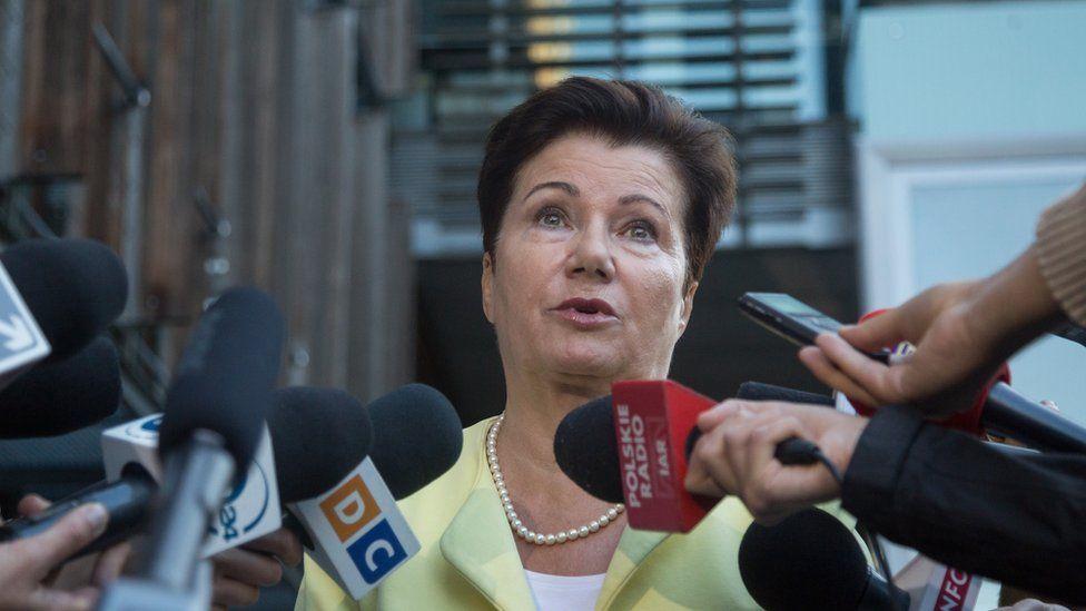 File pic of Mayor of Warsaw, Hanna Gronkiewicz-Waltz