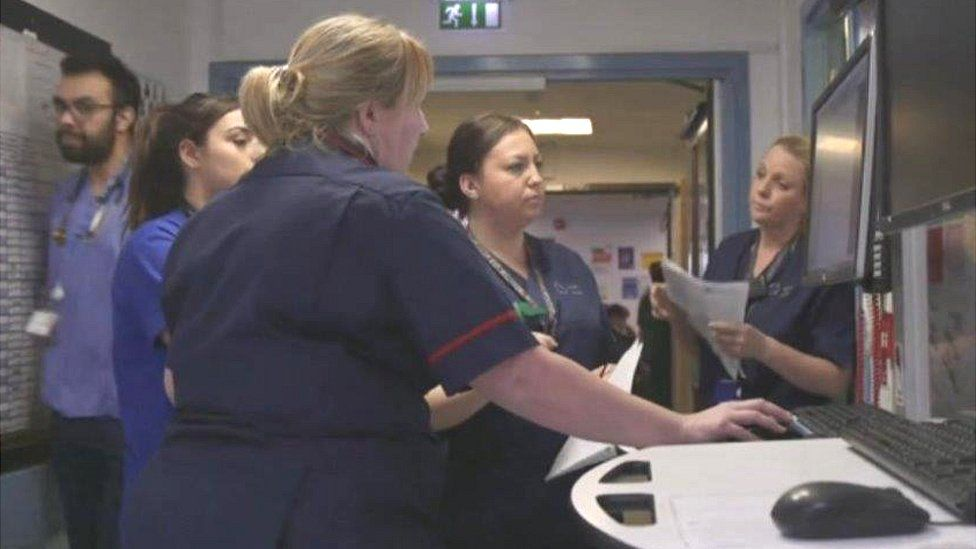 Nurses at A&E