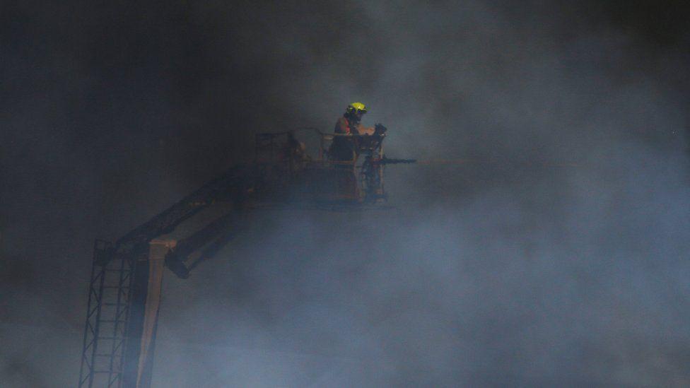 Firefighters in Sydney