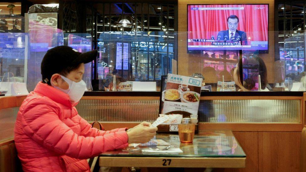 NPC on TV in Hong Kong