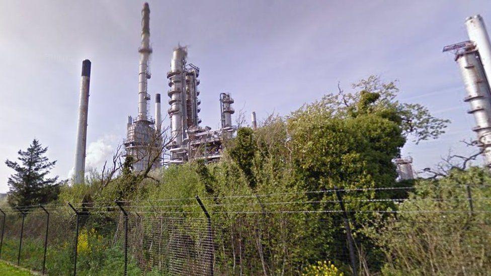 Pembroke's Valero oil refinery