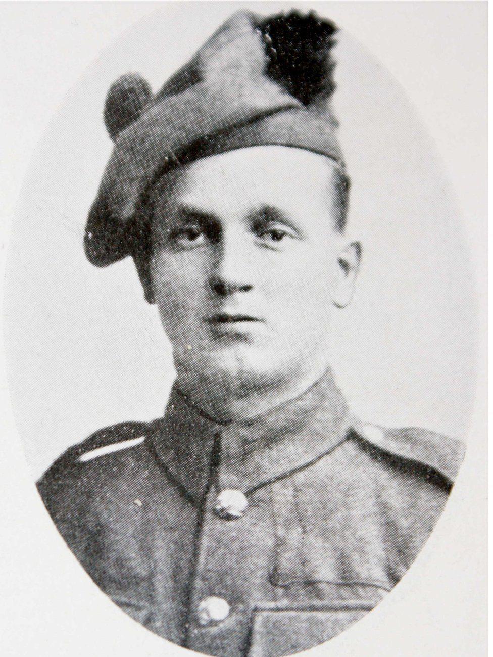 Private Andrew Webb