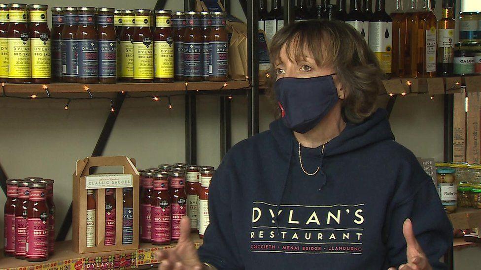 Maria McLean from Dylan's restaurant in Menai Bridge