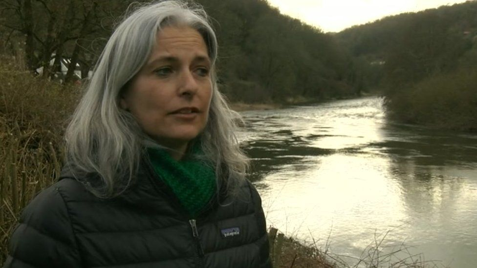 Ecology lecturer Kirsten Thompson on the Wye