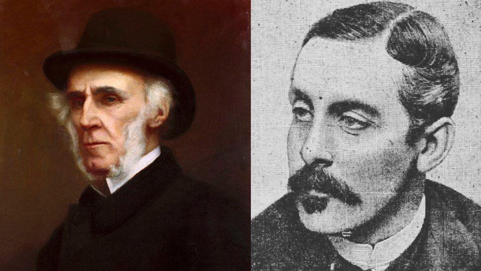 Syr Richard Moon a George William Duff Assheton Smith