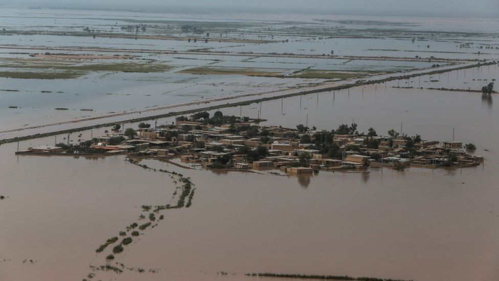 Khuzestan province is now seeing the worst of the flooding