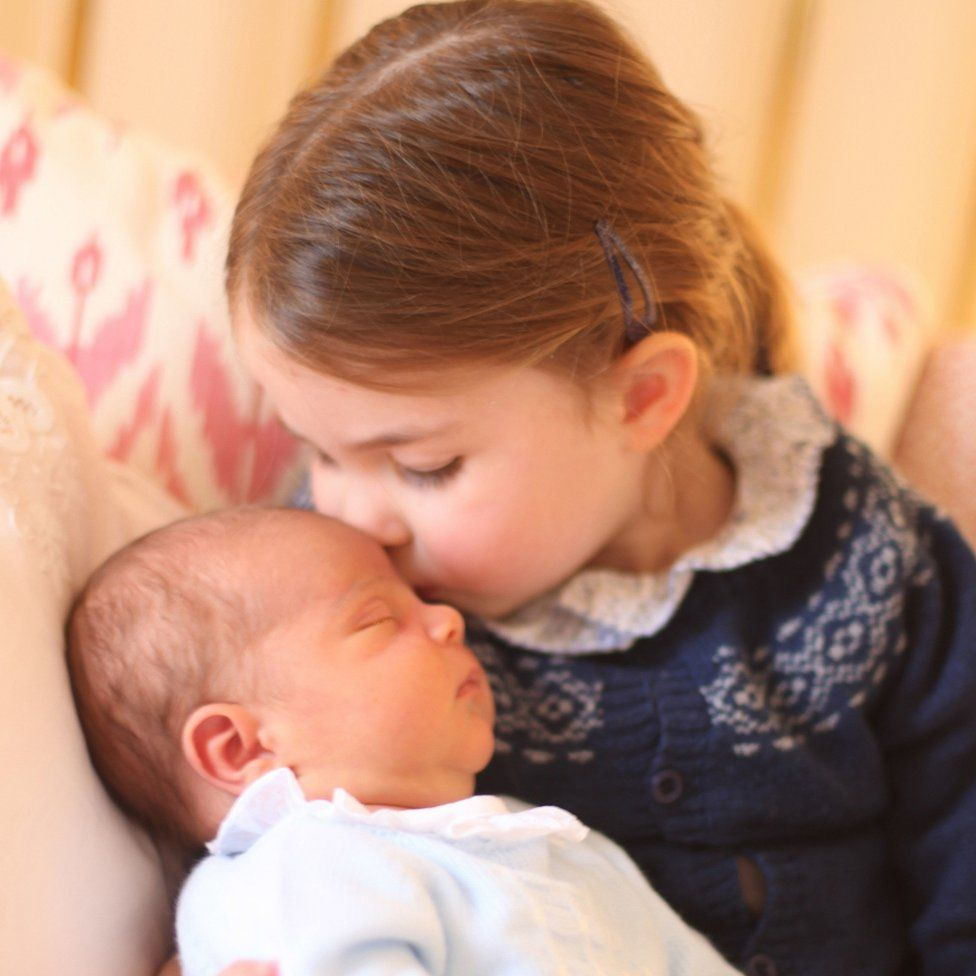 Princess Charlotte and Prince Louis